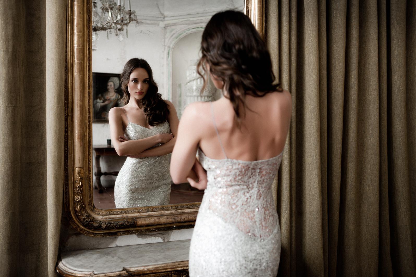 esküvői ruha és esküvői nadrág